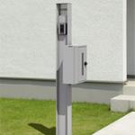 機能門柱 シンプル