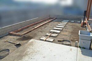 コンクリート平板DIY ①
